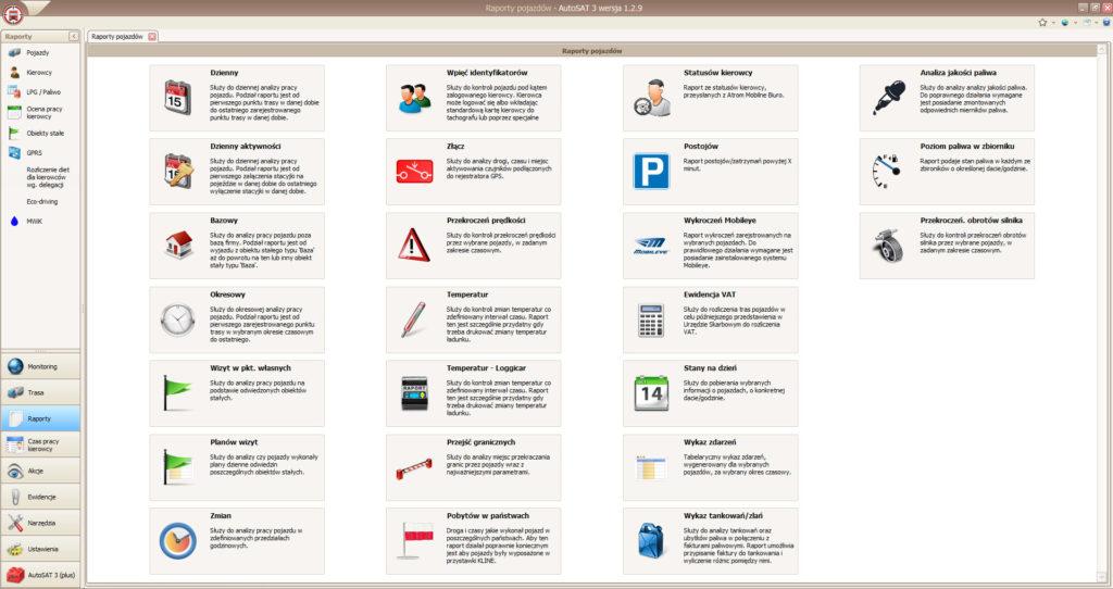 autosat 3 menu